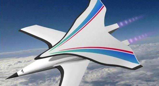 O avião que os chineses tentam desenvolver voaria a uma velocidade cinco vezes maior que a do som