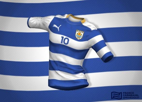 Designer cria camisas de seleções inspiradas nas bandeiras dos países: Uruguai