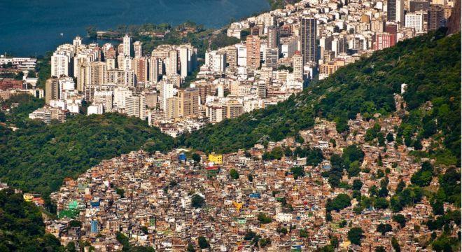 Brasil figura como o 9º país mais desigual do mundo