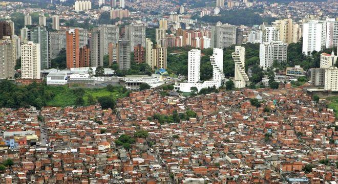 Paraisópolis e Morumbi, na zona sul de São Paulo
