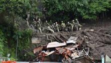Deslizamento no Japão deixa número incerto de vítimas