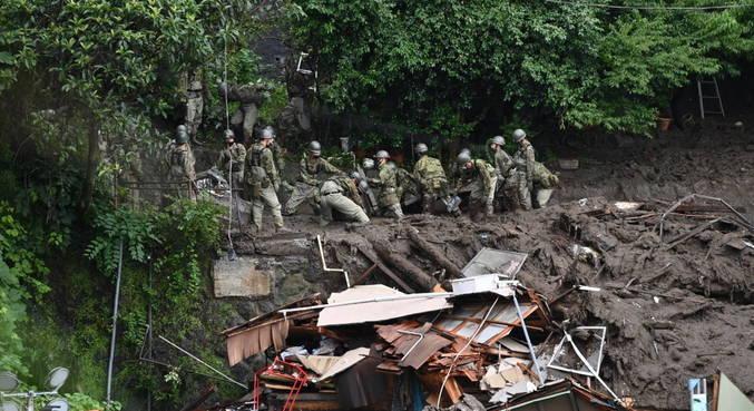 Deslizamento deixou pelo menos 3 mortos e dezenas de desaparecidos