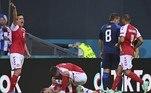 A imagem de Christian Eriksen sofrendo um mal súbito durante um jogo da Eurocopa assustou a todos e muita gente temeu pelo pior. O craque da Dinamarca durante alguns minutos foi atendido no gramado e, em sequência levado a um hospital