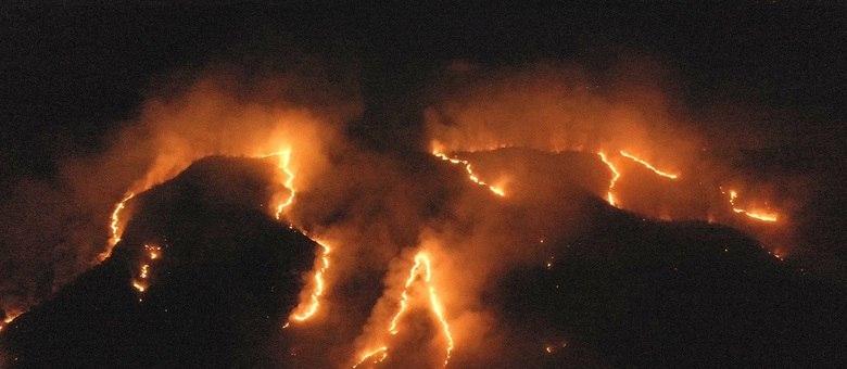 De 1.º de janeiro até terça-feira (20), foram 74.155 focos de incêndio no país