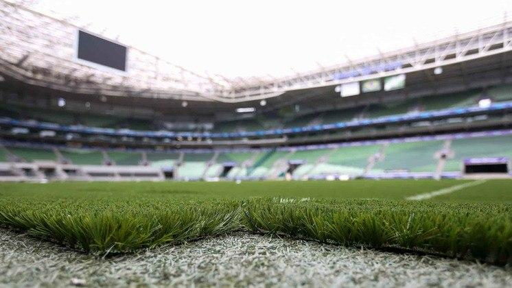 Dessa forma, desde a estreia do gramado sintético no Allianz Parque, foram oito partidas em casa, com seis vitórias e dois empates, num aproveitamento de 83,3% no campo.