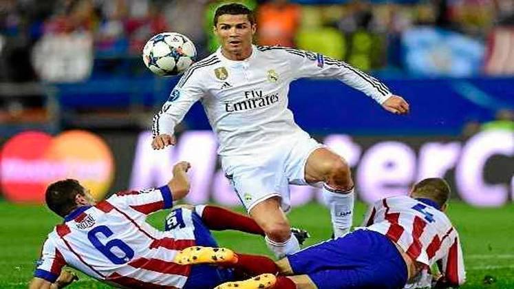 Dessa vez, quem saiu na frente foi o Real Madrid, com gol marcado por Sergio Ramos aos 15 minutos do primeiro tempo. O empate do Atlético demorou para sair, chegando apenas aos 34 minutos do segundo tempo com Yannick Carrasco. Nos pênaltis, o Real Madrid converteu todos, enquanto Juanfran perdeu para os colchoneros.