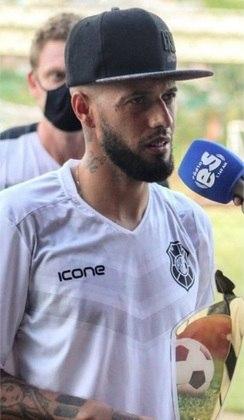 Destaque do Flamengo e com passagens por Santos, Vitória, Guarani e Náutico, PAULINHO hoje é o camisa 10 do Rio Branco na reta final do Campeonato Capixaba.