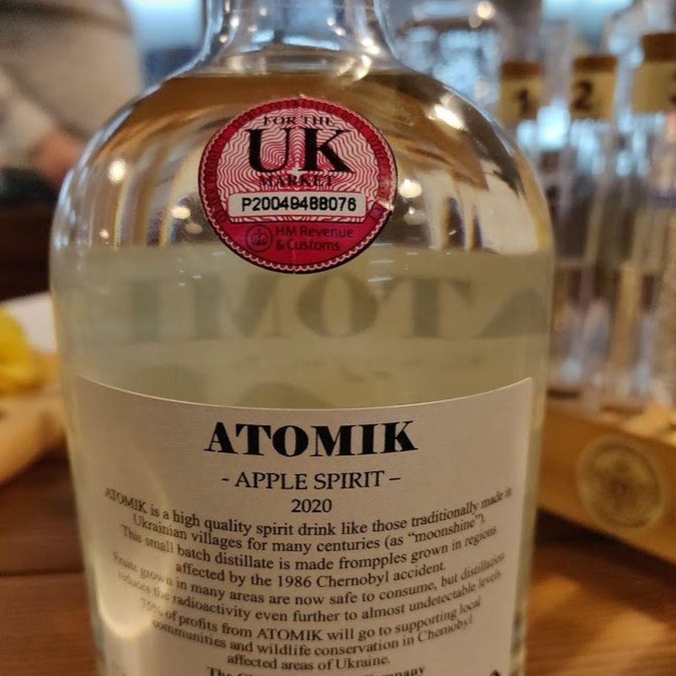 Bebida feita com maçãs plantadas a menos de 100km da usina seria vendida no Reino Unido