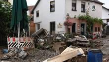 Após enchentes, cidade alemã de Ahrweiler começa a se reconstruir