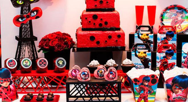 Detalhes de festa ladybug