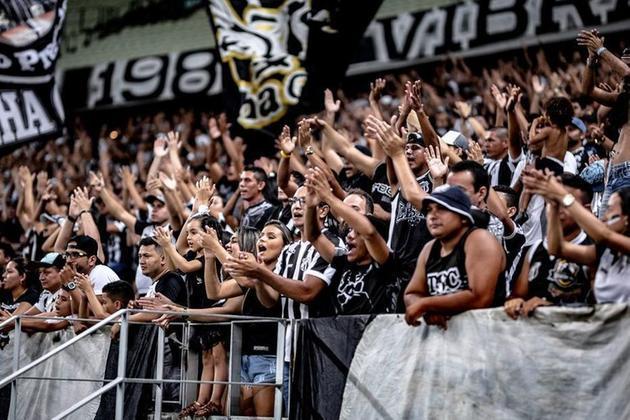 Detalhes sobre o valor do Ceará: 44% de jogadores, 31% do valor da marca, 19% em direitos esportivos e 6% em ativos