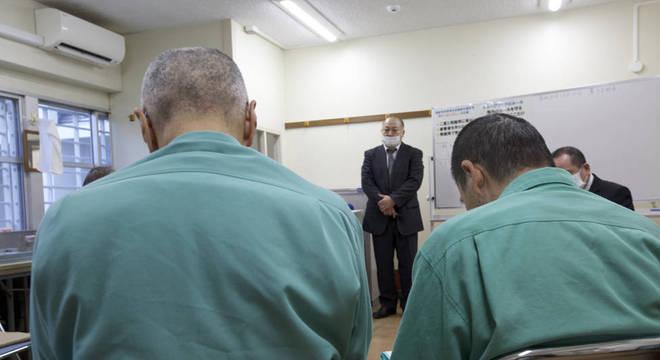 Algumas instalações prisionais precisaram ser adaptadas para receber detentos idosos