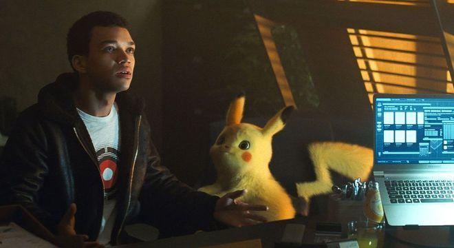 Justice Smith é Tim, o parceiro de Pikachu nesta jornada