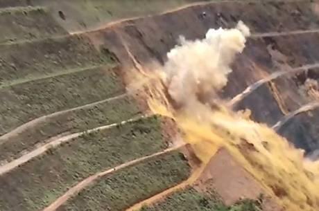 Vídeo mostra momento de detonação