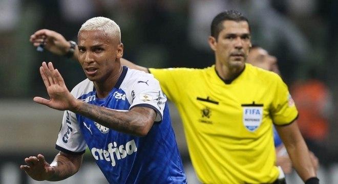 Deyverson fez tratamento com a psicóloga do Palmeiras