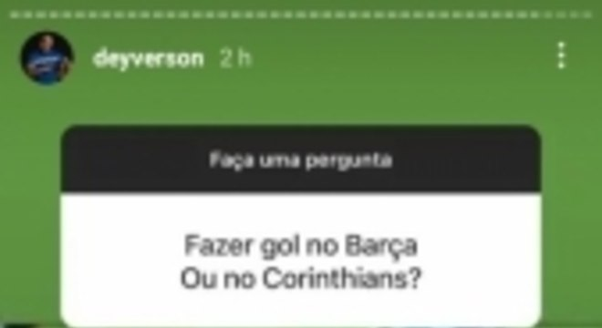 Deyverson zoa Corinthians
