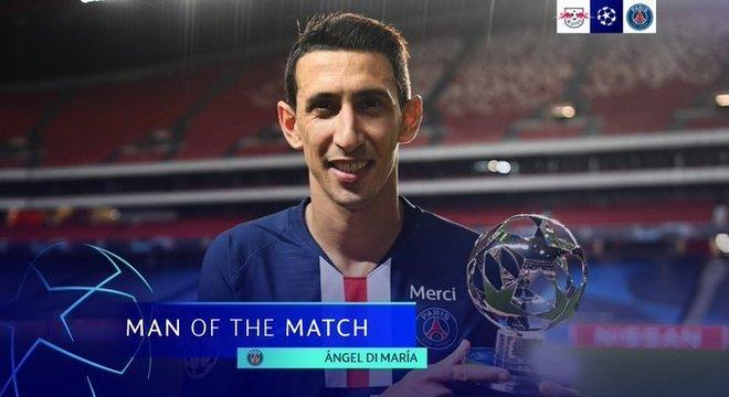 A UEFA não poderia dar o prêmio de melhor em campo para outro. Di María