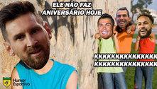 CR7, Neymar e Tévez: aniversário triplo é tema de brincadeiras e recordações de memes