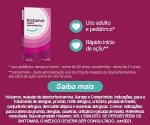 Referência consultada: bula do produto Histamin