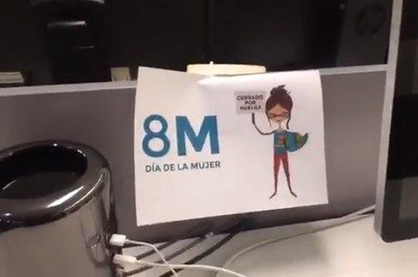 Jornalistas do El País pararam na Espanha e também no Brasil