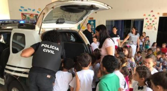 dia das criancas policia civil agua boa