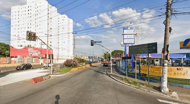 Tentativa de assalto aconteceu na avenida Piraporinha, em Diadema