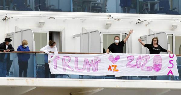 EUA irá resgatar seus cidadãos de quarentena em cruzeiro no Japão