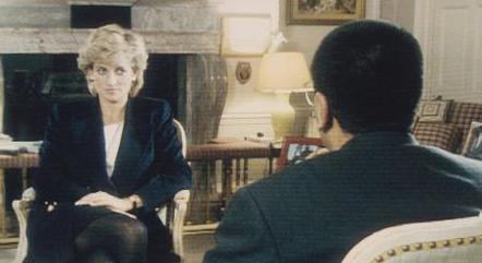 A entrevista foi vista por mais de 20 milhões de telespectadores no Reino Unido