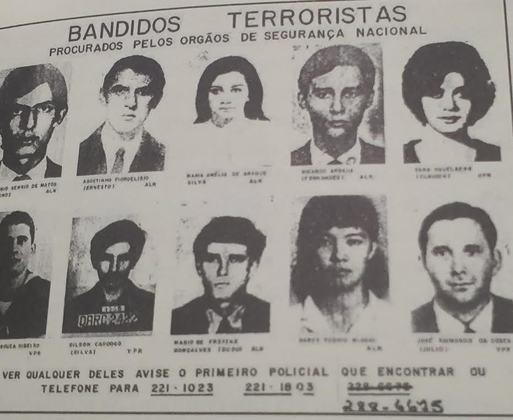 Diante do aumento da repressão, pessoas que se opunham ao regime ou tinham ideais de esquerda passaram a ser tachados como