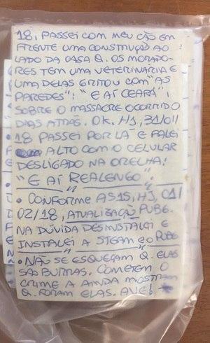 Anotações sobre massacres