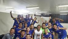 Avião cai em TO com jogadores e presidente do Palmas Futebol