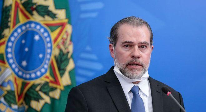 O ministro Dias Toffoli, que pediu mais tempo para analisar o processo