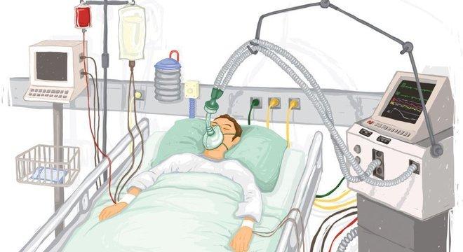 'O respirador não é algo que cura por si só, mas permite economizar tempo para o tratamento entrar em vigor', explica o médico Oriol Roca