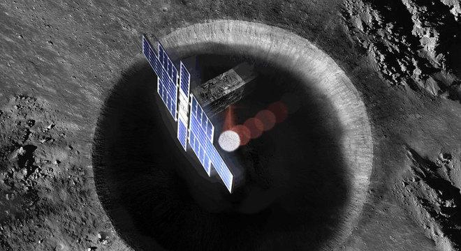 O satélite Lunar Flashlight tem seis unidades de CubeSat. Seu objetivo é buscar gelo na superfície da Lua