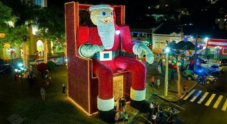 """""""Socorro, Luzes de Natal"""" vai encantar todos os visitantes independente da idade"""
