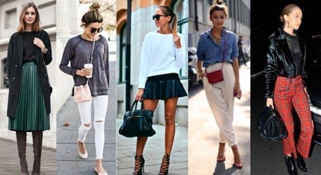 Com alguns truques de moda é possível disfarçar bem e dar mais volume a parte do corpo que você deseja.