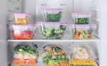 Programar a alimentação do dia seguinte no dia anterior, mesmo que ainda esteja trabalhando em casa