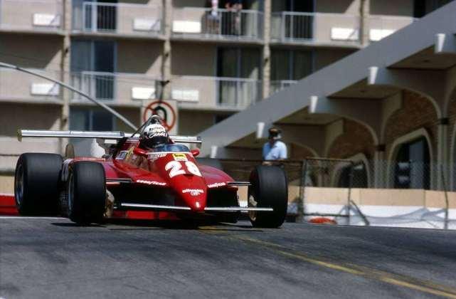 Didier Pironi liderava com facilidade a temporada 1982 da F1, mas um grave acidente nos treinos para o GP da Alemanha o tirou do esporte