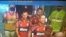 """""""Para com essa po... E faz dez gols"""". A cobrança de Diego a Gabigol"""