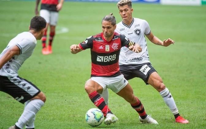 Diego - 26 jogos; 1 gol; 3 assistências