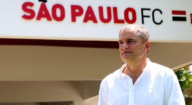 Diego Aguirre fica no São Paulo pelo menos até dezembro de 2018