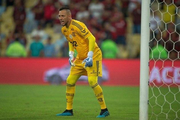 Diego Alves (35 anos) - Goleiro do Flamengo