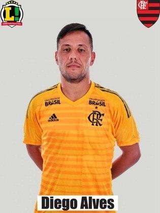 Diego Alves - 6,5 - Fez grandes defesas na segunda etapa que evitaram a virada do Fluminense.