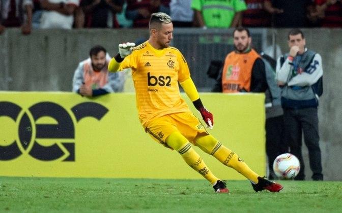 Diego Alves (Flamengo) - Contrato válido até 31 de dezembro de 2020.