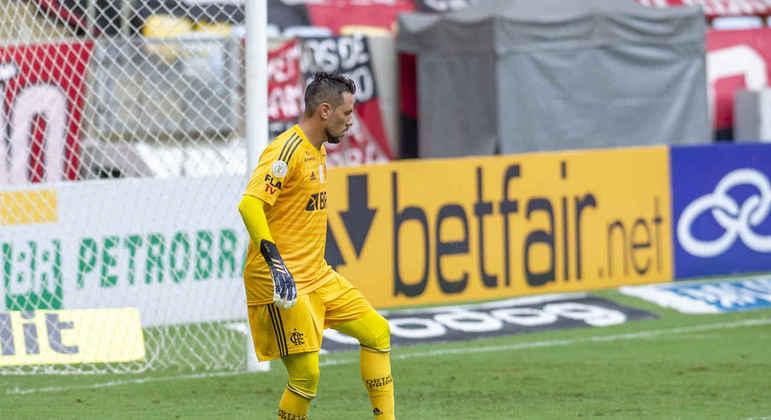 Diego Alves - Goleiro - 35 anos - Contrato até 31/12/2021