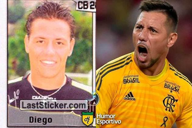 Diego Alves jogou pelo Atlético-MG em 2005. Inicia o Brasileirão 2021 com 35 anos e jogando pelo Flamengo.