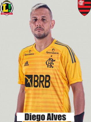Diego AlvesDiego Alves: 6,0 – Espectador dentro de campo, o goleiro não foi exigido e não teve culpa nos gols sofridos.