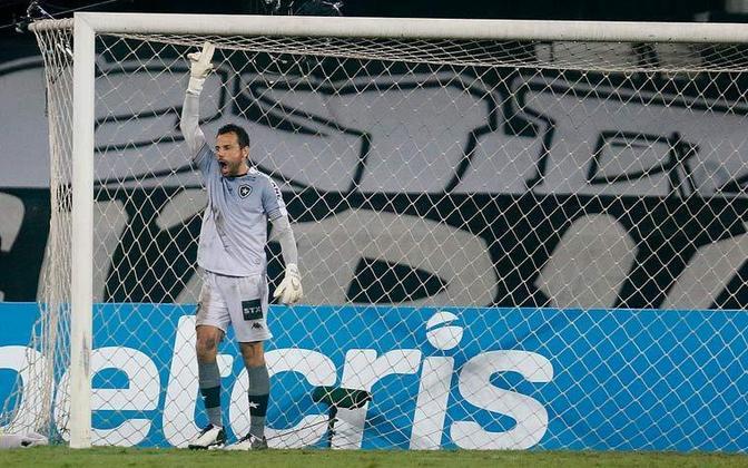 Diego Cavalieri (38 anos) - Goleiro do Botafogo