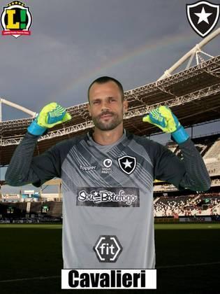 Diego Cavalieri - 6,5 Fez um milagre em um lance mano a mano com Willian Bigode. Não teve culpa no gol de Emerson Santos.