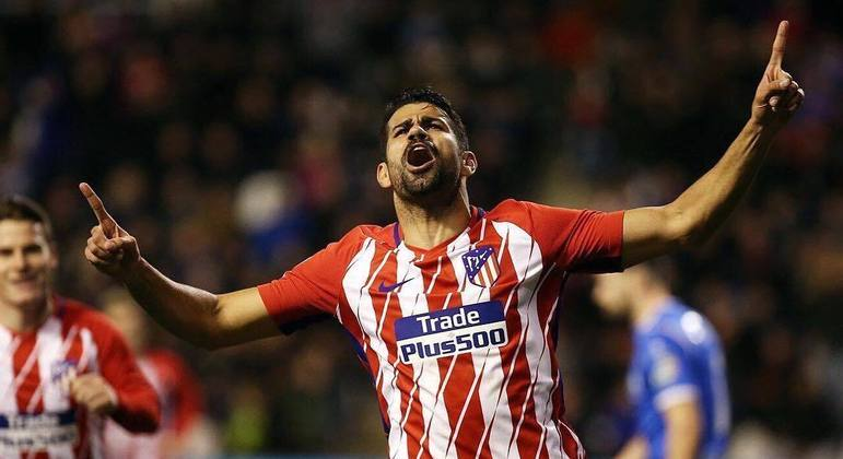Diego Costa, 32 anos. Contrato até dezembro de 2022 com o Atlético Mineiro